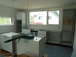 Die Küche nimmt langsam Form an