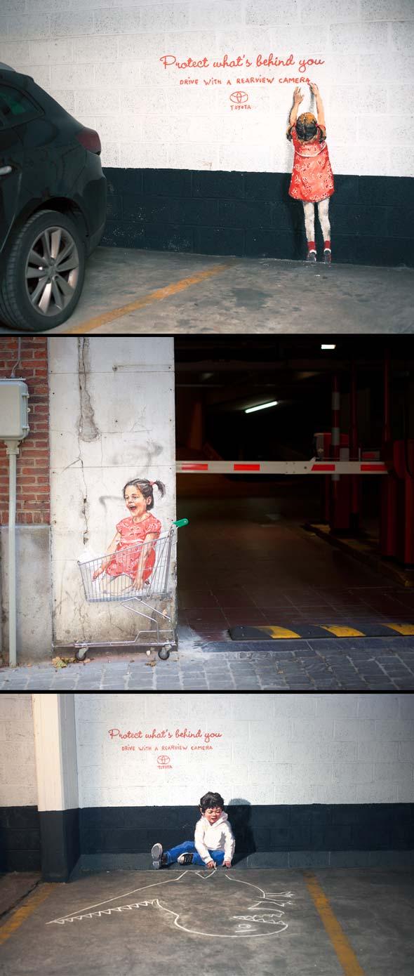 Gambar serius kreatif iklan keselamatan kanak kanak for Mural untuk kanak kanak