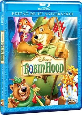 Filme Poster Disney Robin Hood - Edição de 40º Aniversário BDRip XviD Dual Audio & RMVB Dublado