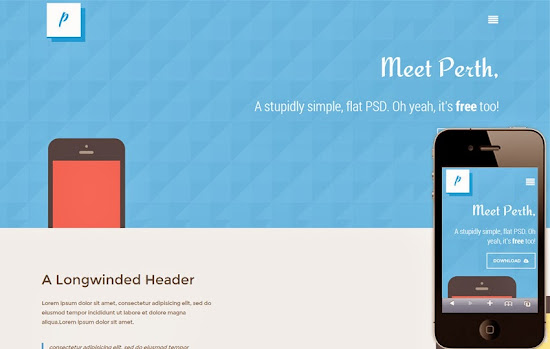 Free Responsive and Mobile Website Templates