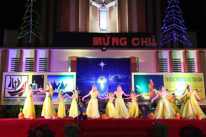 Đêm Giáng Sinh tại giáo xứ Quảng Ngãi