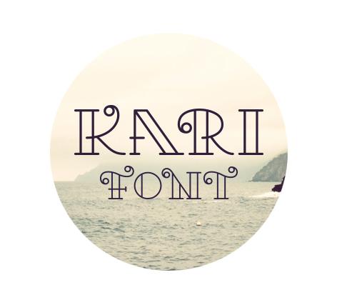 Kari Free Fonts