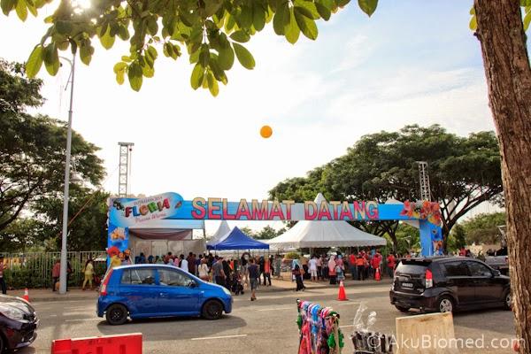 pintu masuk floria putrajaya 2014