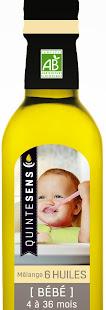 mélange huiles bio bébé quintesens
