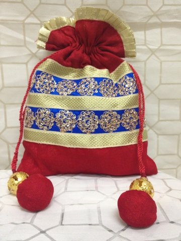 Wedding Gift Bags India : Jackpot India: Wedding favor bags from India