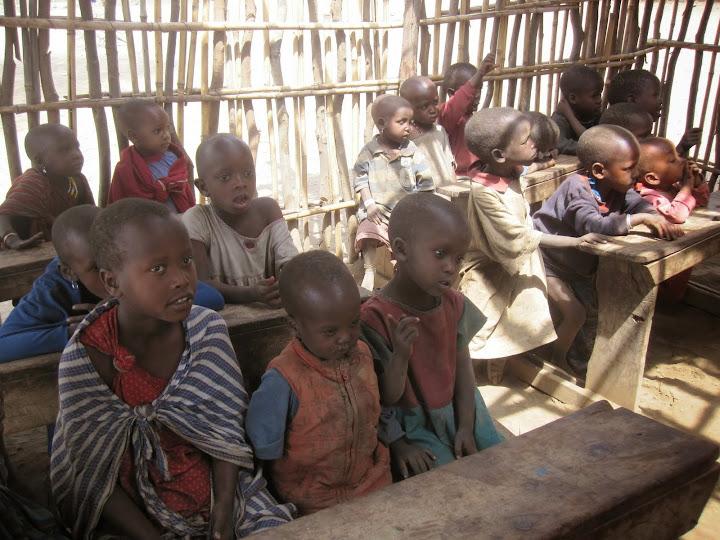 Masai school children
