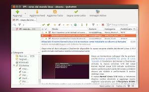 QuiteRSS su Ubuntu
