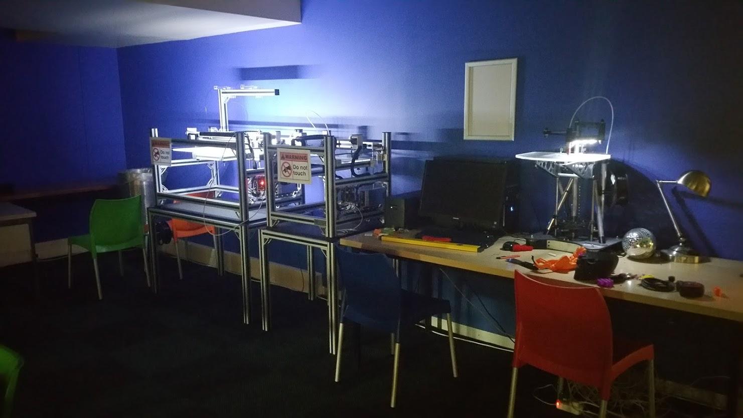 Reprap Morgan at the UP Makerspace