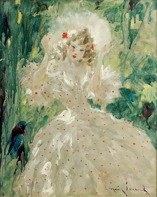 Louis Icart - The Summer Dress
