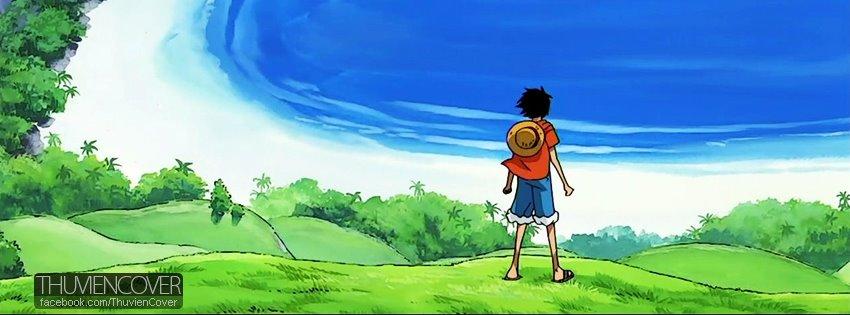 Ảnh bìa One Piece đẹp cho Facebook