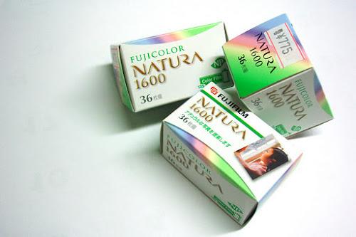 Fujicolor Natura 1600半格試玩