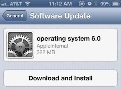 Ya disponible iOS 6 Beta 2