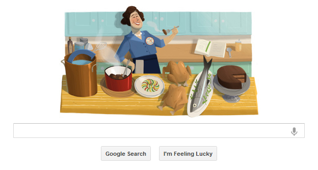 Google Logos - 2012 Julia Child.jpg, logos julia child