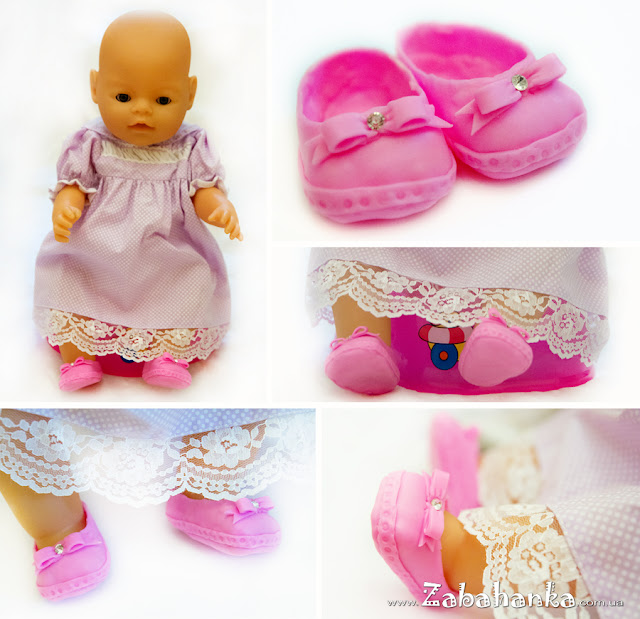 Туфельки для ляльки