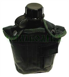 MFH US Фляга в чохлі пластикова олива: 33213В
