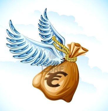 dinero_volando