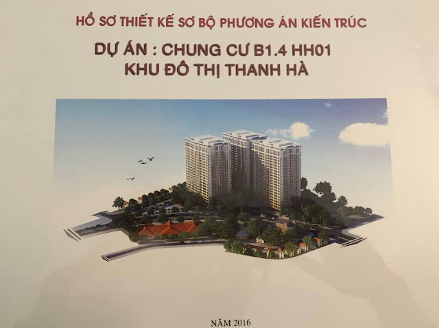 Giới Thiệu dự án chung cư b1.4 HH01 thanh hà