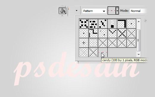 Menambah pattern