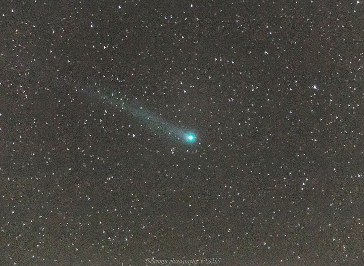 Comet Lovejoy, seen in Northern Norway, January, 2015. Photographer Benny Høynes