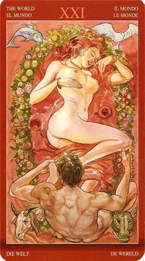 Таро сексуальной магии толкование