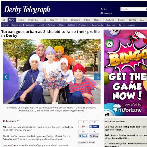 Derby Telegraph dating