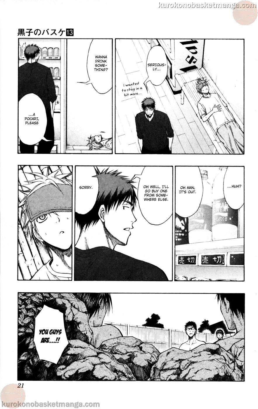 Kuroko no Basket Manga Chapter 109 - Image 19