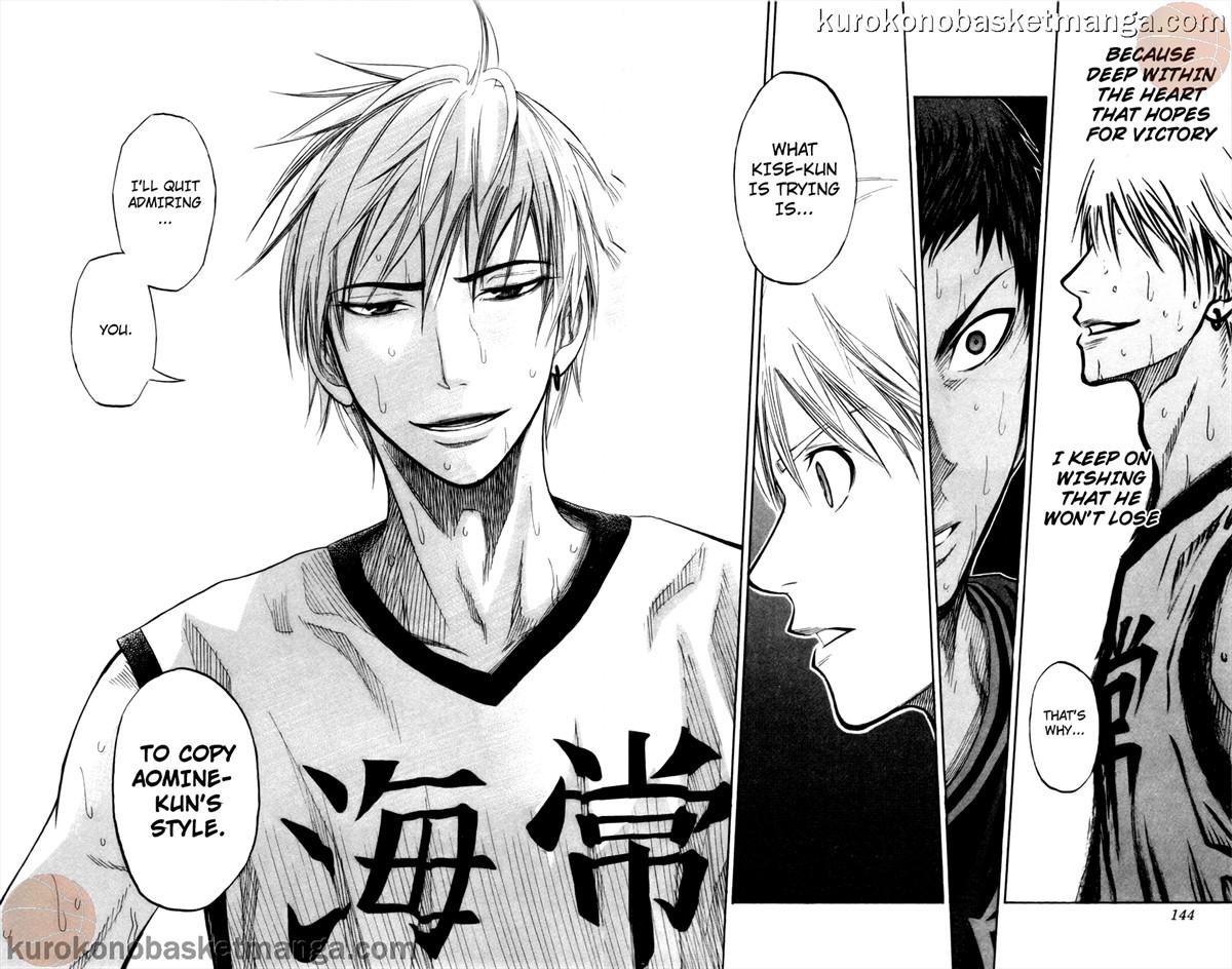Kuroko no Basket Manga Chapter 67 - Image 18-19