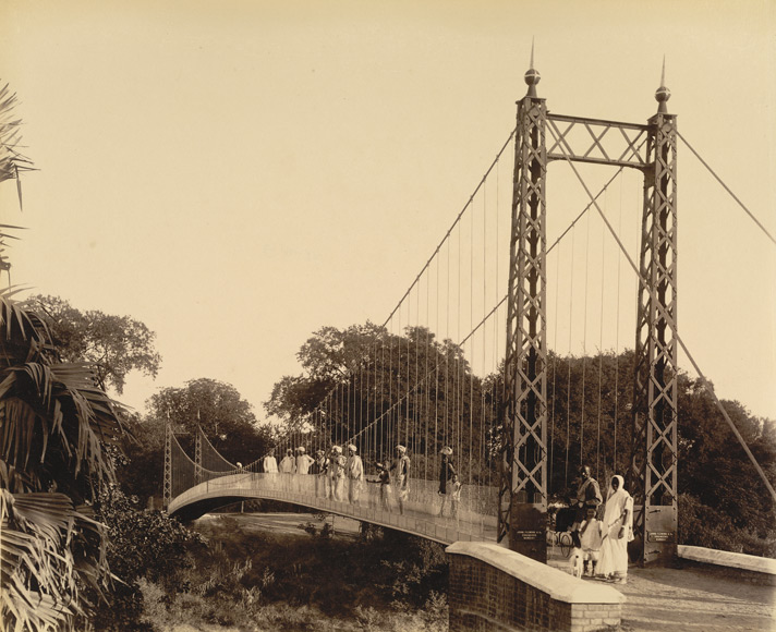 Suspension Bridge at Sayaji Baug