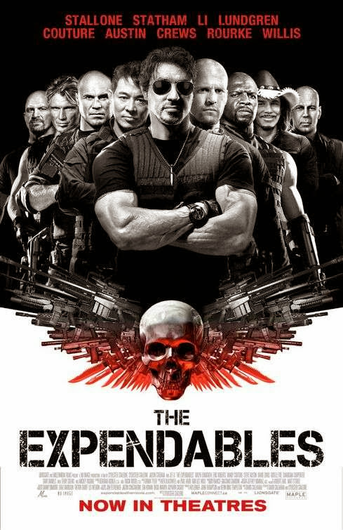 Poster Of The Expendables (2010) Full Movie Hindi Dubbed Free Download Watch Online At Alldownloads4u.Com