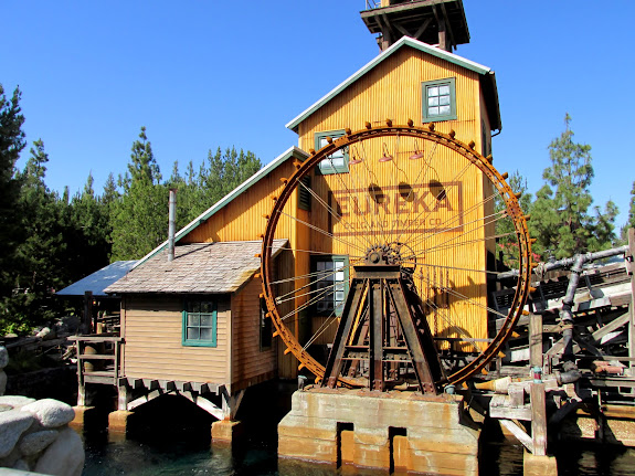 Lumber mill at the closed-for-the-season Grizzly River Run