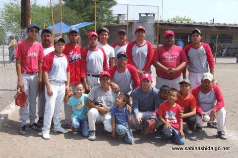 Los H de Vallecillo en el softbol del Club Sertoma