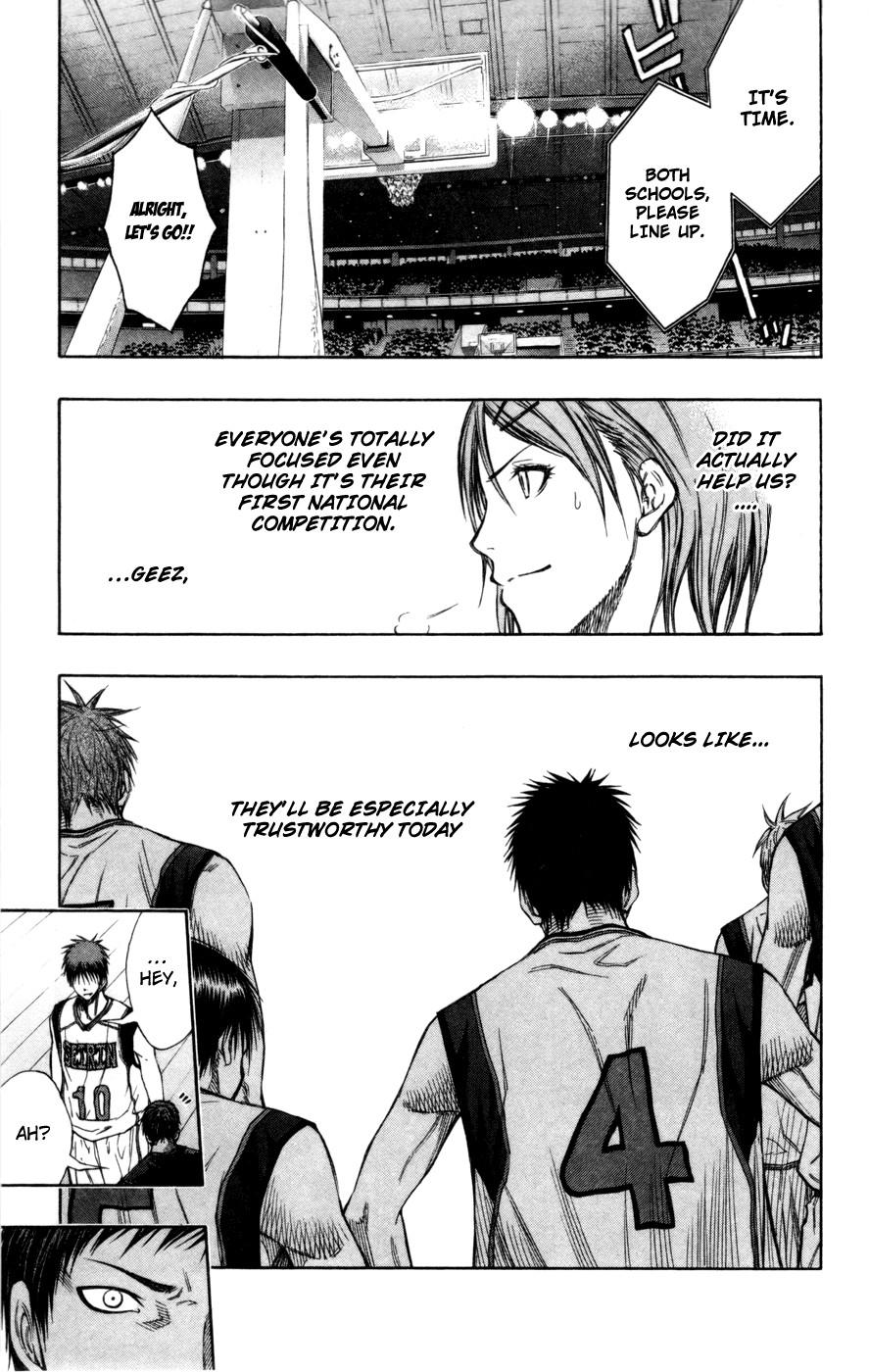 Kuroko no Basket Manga Chapter 114 - Image 13