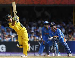 Ricky Ponting got his last century of World Cup tournaments in 118 balls, India vs Australia, 2nd quarter-final, ICC Cricket World Cup 2011, Ahmedabad, March 24, 2011