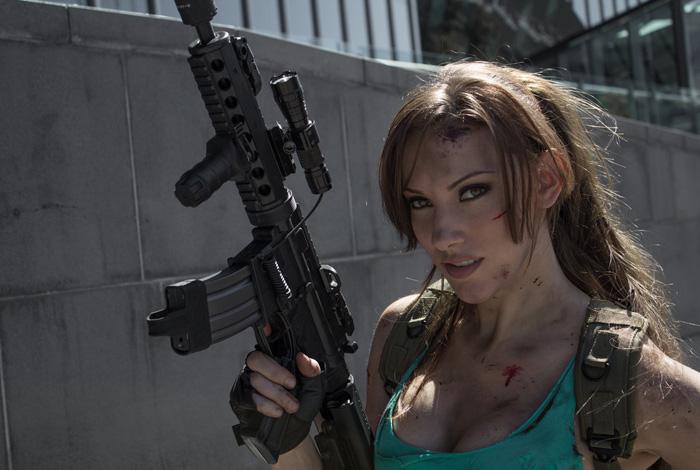 """Bộ ảnh cosplay tuyệt vời về """"siêu điệp viên"""" Lara Croft - Ảnh 1"""