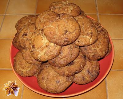 Les authentiques cookies - recette indexée dans la rubrique Desserts