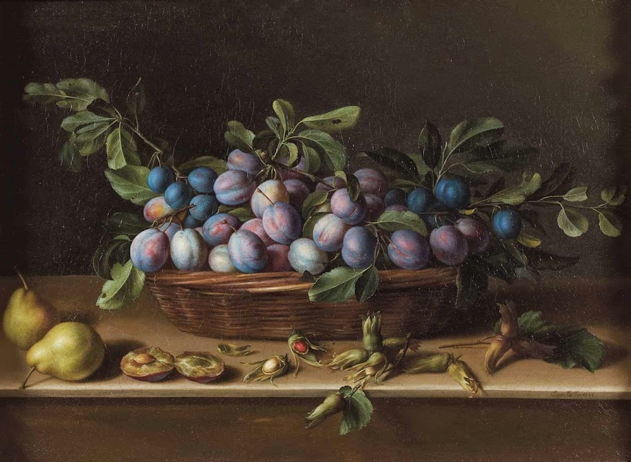 Louise Moillon - Still Life with Plums