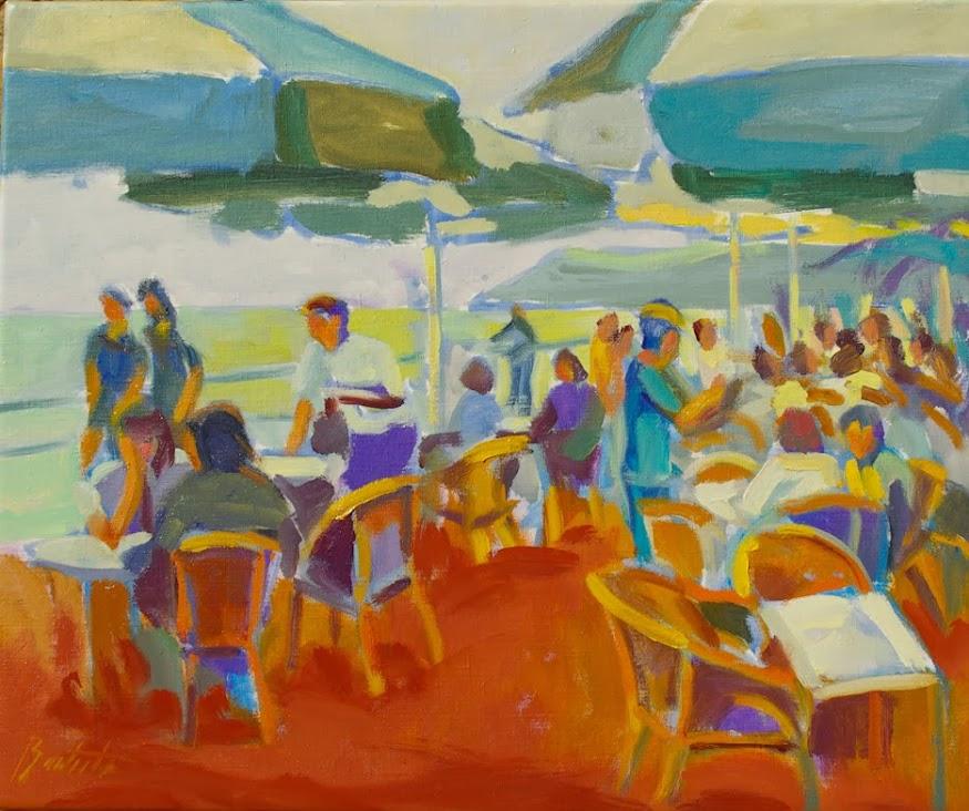 José Bautista,Pintor,Pintor José Bautista,Pintura,del pintor al comprador,José Bautista pintura,Tinto de verano