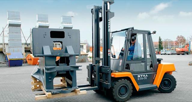 Xe nâng hàng 6 - 7 tấn Diesel