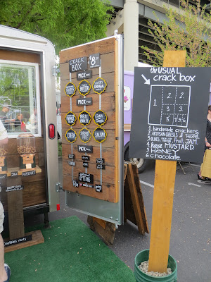 Cheese & Crack's food cart offers cheese plates and homemade crackers