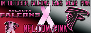 Falcons Breast Cancer Awareness Pink Facebook Cover Photo