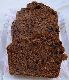 Kakaolu kuru üzümlü kek