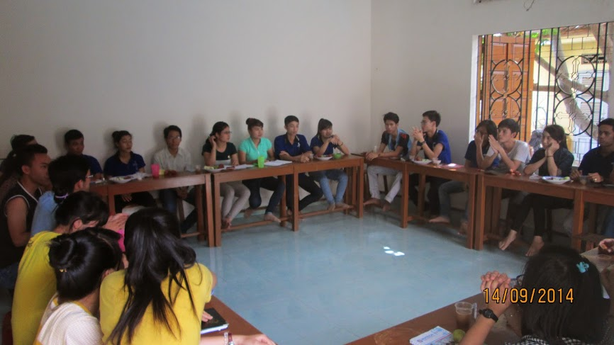 Khóa bồi dưỡng ban điều hành Sinh viên Công giáo Tin Yêu Nha Trang