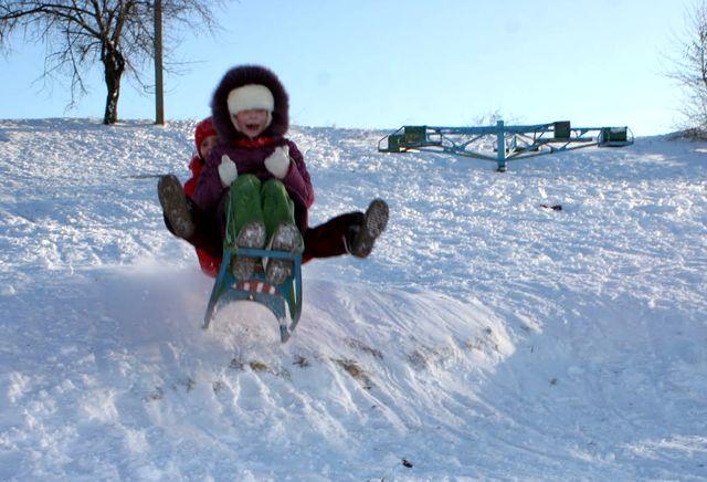 Зима в Армянске 2009