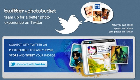 Connect Photobucket with Twitter