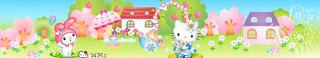 Barras separadoras horizontal Hello Kitty jpg