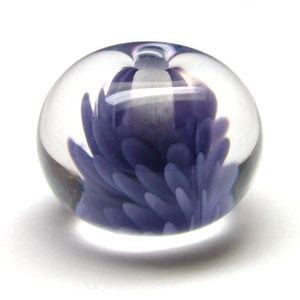 Lampwork Glass 'Flurry' Bead