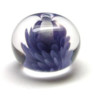 Lampwork Glass 'Flurry' Bead