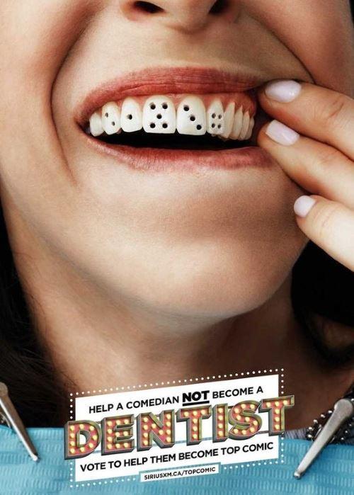 Реклама стоматологической клиники