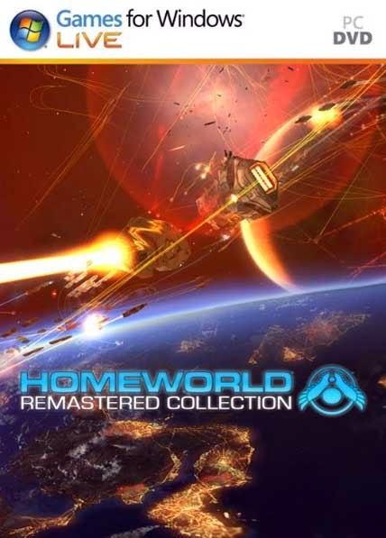لعبة الحروب الفضائية Homeworld Remastered Collection-RELOADED كاملة مجاناً