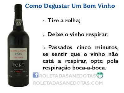 Como Degustar Um Bom Vinho